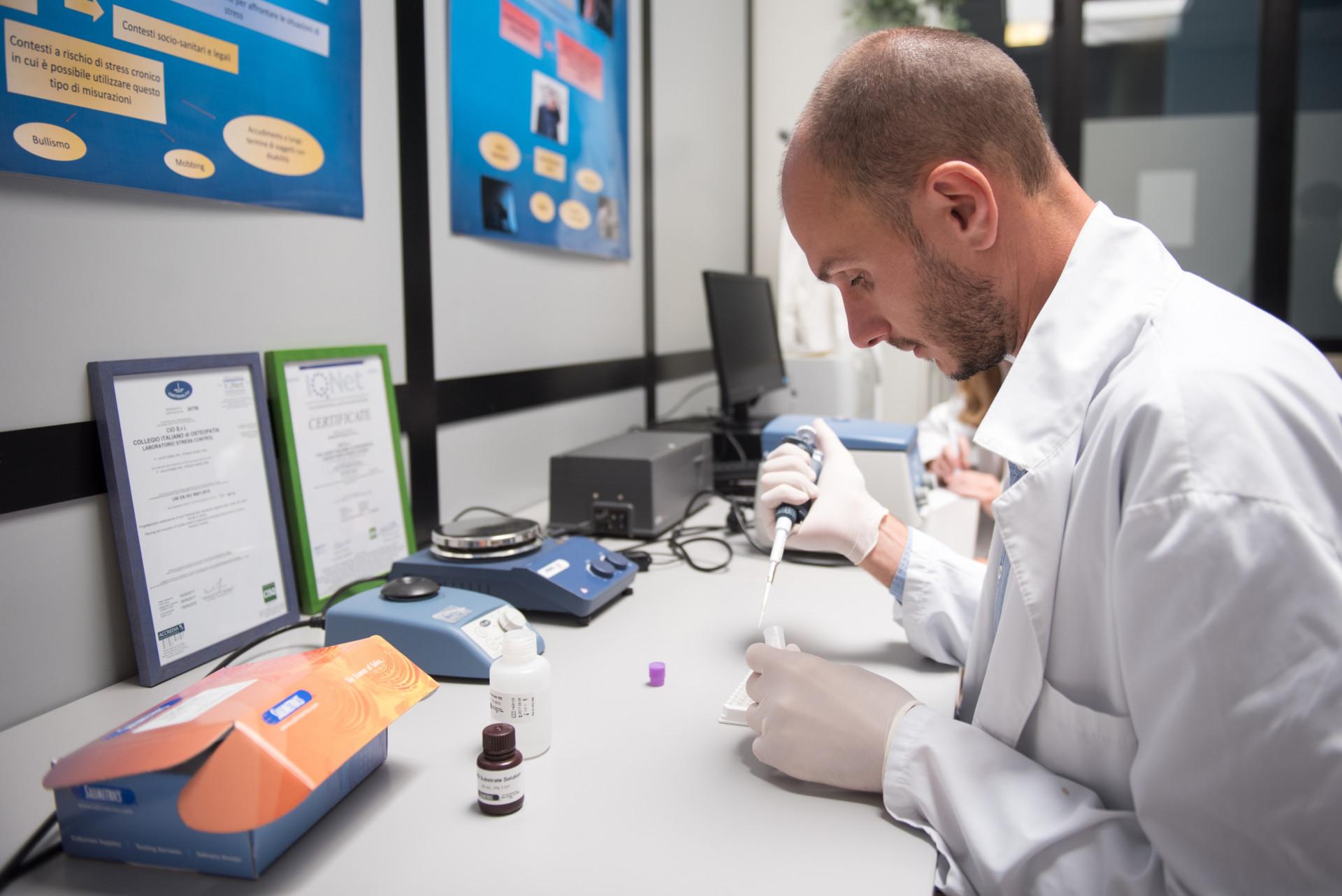 Stress Control Lab - Analisi di laboratorio